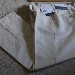 Accepting 50% Off NWT Liz Claiborne Linen Trousers
